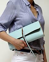 Kabelky - Listová kabelka MINI BLUE SKY - 7812808_