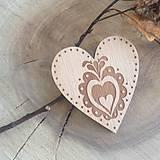 Brošňa srdce Orava