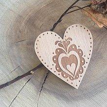 Odznaky/Brošne - Brošňa srdce Orava - 7812940_