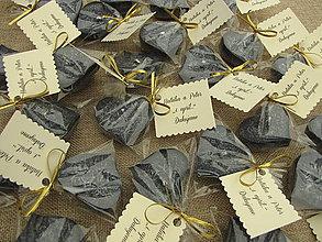 Darčeky pre svadobčanov - Svadobná plávajúca sviečka - 7813560_