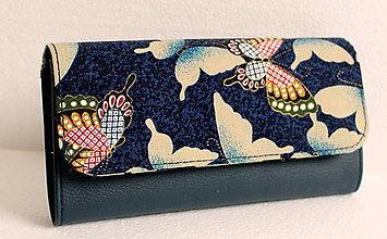 Peňaženky - Na krídlach motýľa - na dve meny - 7813727_
