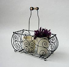 Nádoby - Stojan na kvety - 7812688_