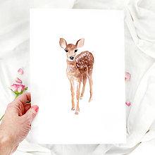 Grafika - Artprint // srnka - 7812395_