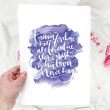 Grafika - Artprint // Slovo Nášho Boha - 7814649_