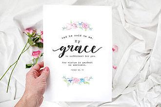 Grafika - Artprint // My Grace - 7814793_