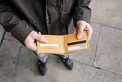 Peňaženky - Eggo peňaženka Rivers prírodná (nefarbená) - 7815205_