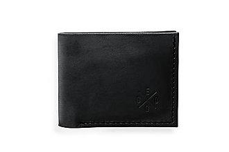 Peňaženky - Eggo peňaženka Rivers Coins čierna - 7815263_