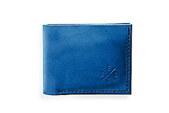 Peňaženky - Eggo peňaženka Rivers Coins modrá - 7815285_