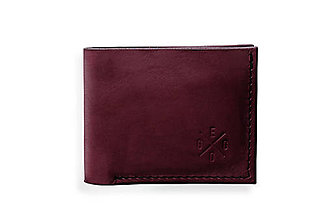 Peňaženky - Eggo peňaženka Rivers Coins fialová - 7815294_