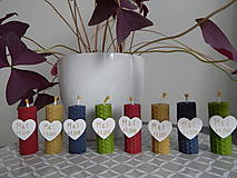 - Sviečky z medzistienok pre IwkaKiwka - 7817217_