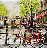 - S939 - Servítky - bike, bicykel, Amsterdam, most, kaviareň - 7818068_