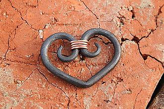 Kľúčenky - Kľúčenka srdce - 7820400_