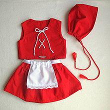 Detské oblečenie - Karkulka-kostým na přání - 7819253_