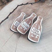 Odznaky/Brošne - Odznak Beer - 7818381_