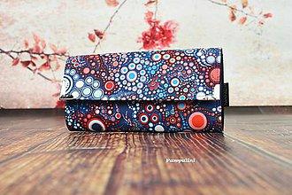 Peňaženky - Bublinky trikolor - 7819044_