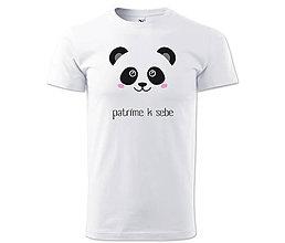 Oblečenie - Pánske tričko PANDA - 7817490_