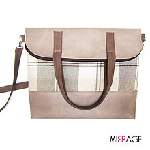 Kabelky - Rebecca n.29 square & taupe - 7816213_