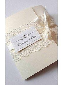 Papiernictvo - svadobné oznámenie 501 - 7816195_