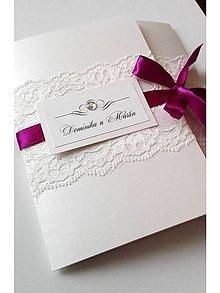 Papiernictvo - svadobné oznámenie 502 - 7816201_