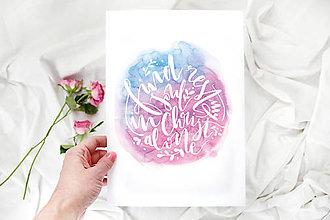 Grafika - Artprint // Find Rest My Soul - 7816740_