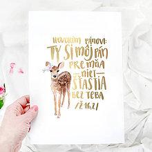 Obrázky - Artprint // Ty Si Môj Pán - 7816796_