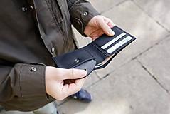 Peňaženky - Eggo peňaženka Rivers Coins červená - 7818478_