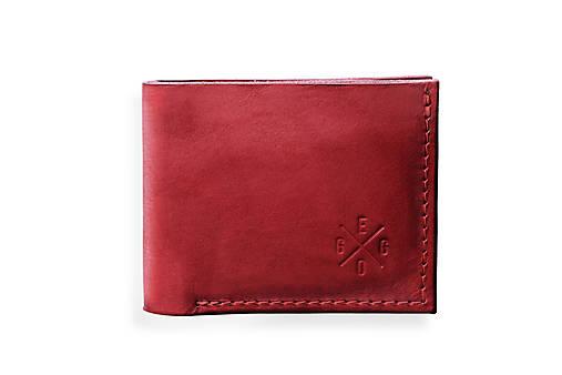 Eggo peňaženka Rivers Coins červená