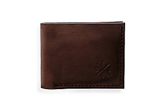 Peňaženky - Eggo peňaženka Rivers Coins tmavo hnedá - 7818493_