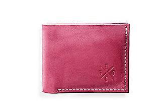 Peňaženky - Eggo peňaženka Rivers Coins ružová - 7818571_