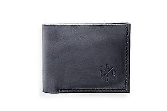 Peňaženky - Eggo peňaženka Rivers Coins šedá - 7818576_
