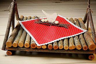 Úžitkový textil - Obrúsok 40 x 40 cm - 7819919_