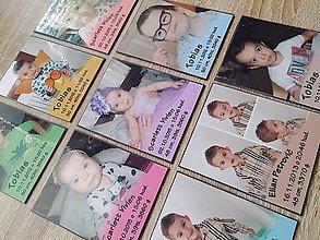 Magnetky - baby magnetka s fotkou - 7821011_