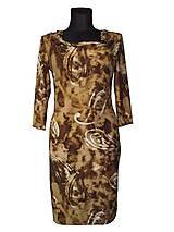 Šaty - šaty v hnedých tónoch - 7821583_