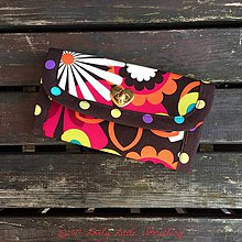 Peňaženky - Peňaženka Flower Shower - 7821540_