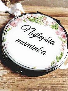 Zrkadielka - Svadobné zrkadielko - najlepšia maminka - 7820863_