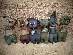 Bábiky - Zajiček - modrý talisman - 7822479_