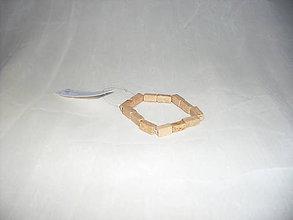 Náramky - Drevený náramok - 7823055_