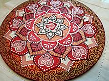 Dekorácie - Mandala lásky a nehasnúcej vášne - 7822914_