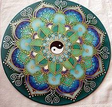 Dekorácie - Mandala zdravia a rovnováhy - 7821365_