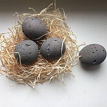 Dekorácie - Veľkonočné betónové vajíčka 2v1 - 7822511_