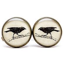 Šperky - Vrana k vrane sadá... - 7823865_