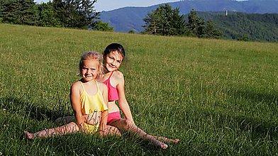 Detské súpravy - dievčenský športový set - 7823557_