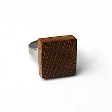 Prstene - Dubový kvádrik - 7822528_