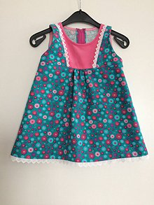 Detské oblečenie - Farebné šaty V - 86 - 7827020_