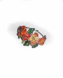 Náramky - flowers náramok 12 - 7824681_