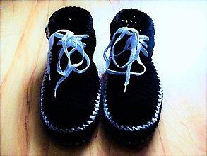 Oblečenie - Pánske papuče šnurovacie - 7824375_