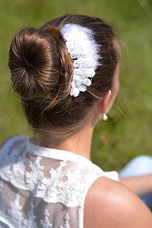 Ozdoby do vlasov - Labutienka - 7827510_