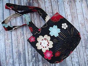 Detské tašky - taška kvety - 7827478_