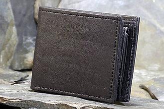 Peňaženky - Kožená peněženka - Alex (na karty) - 7826403_