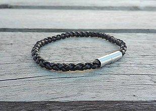 Šperky - Pánsky kožený náramok - 7827009_